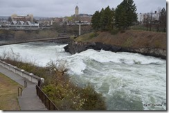Spokane Falls downtown