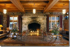 Great Hall Fireplace, Photo by Xanterra Parks & Resorts