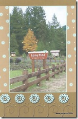 Lone Pine Thank You Card