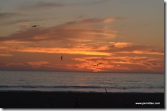 Oceano Beach sunset