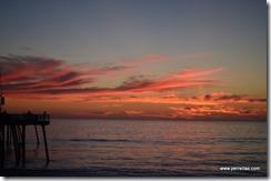 Sundown Pismo Beach Dock