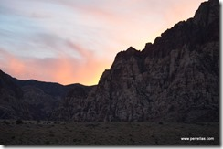 Sunset in the Canyon