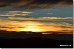 Sunset over Kanab