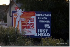 Ho Made Pies, Mt Carmel, UT