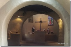 Our Lady of Guadalupe chapel alter