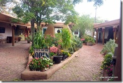 Side street courtyards