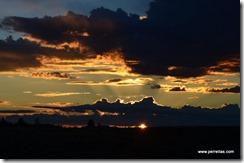 Sunset in Holbrook, AZ