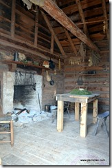 Inside newer slave quarters