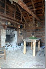 Inside newer slave quarters