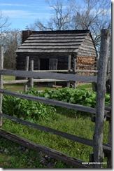 Older Slave Quarters and garden