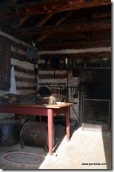 The main house kitchen