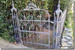 Iron gate in Chappel Hill