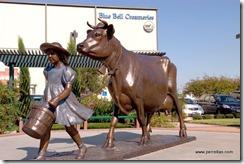 Blue Bell statue