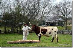 John and Slim down on the farm