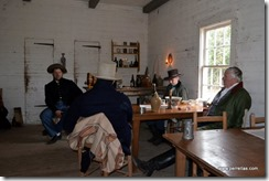 Reenactors Relaxing in the tavern