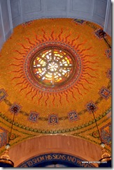 Sun Ceiling Upper Church