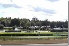 Inside race track
