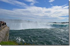Horseshoe Falls from ground level
