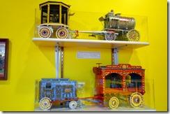 Model Circus Wagons