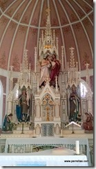 The Pink Church Alter