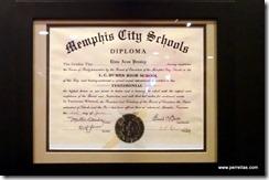 Elvis Presley Diploma