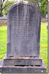 Family Grave marker