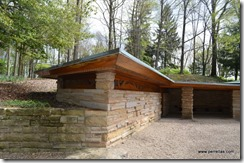 Kentuck Knob car port