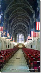 Inside West Point Cadet Chapel