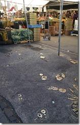 Haymarket brassed trash