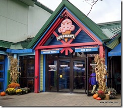 Entrance at Ben and Jerry's