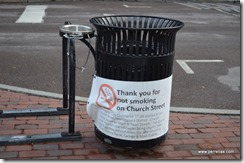 No Smoking on Church Street