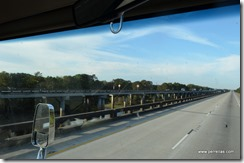 Atchafalaya basin bridge LA