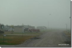 Foggy in Bartlett Iowa