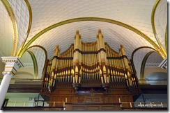 Holy Trinity organ pipes
