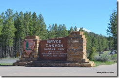 Bryce Canyon Entrance