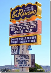 El Rancho on Route 66