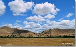 Dry hills, dry fields