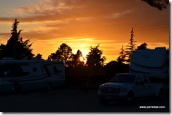 Sunset in Salinas CA