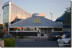 McDonalds space ship