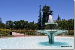 San Jose Municipal Rose Garden Fountain