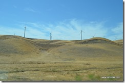Dry hills and windmills