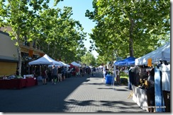 Farmers Market Lodi was blocks long