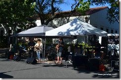 The Band at Farmers Market Lodi CA