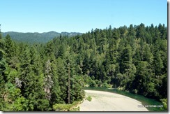 Another bend in the Eel River