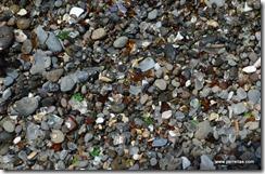 Dry sea glass