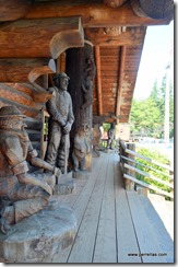 Carved figures