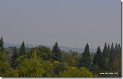 Smoke over the Columbia River