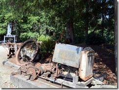 Vintage logging pieces