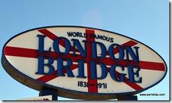 London Bridge sign