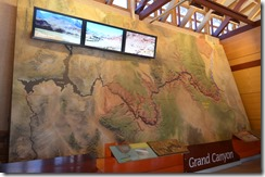 Map of the Grand Canyon